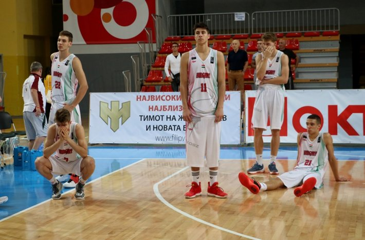 U18-as fiú Európa-bajnokság: drámai csatában buktuk el a feljutást
