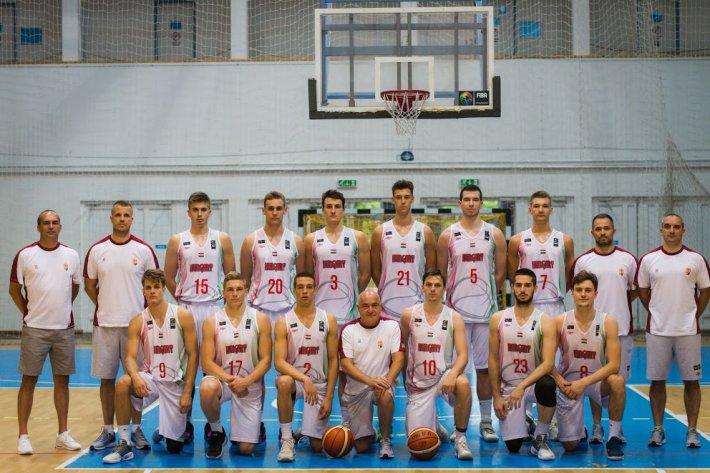 Győzött U20-as férfi válogatottunk