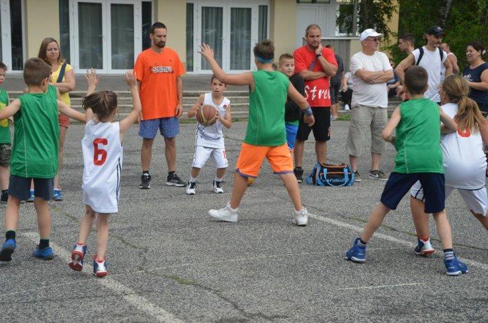Streetball Oroszlányban