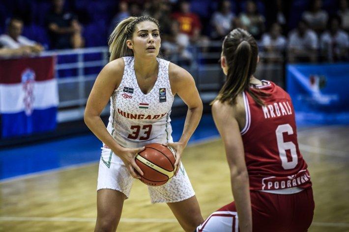 Női U20-as Eb: Magabiztos győzelemmel kezdett a magyar válogatott
