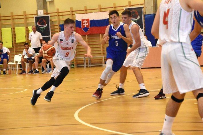 U18-as fiúk: Győzelem Szlovákia ellen