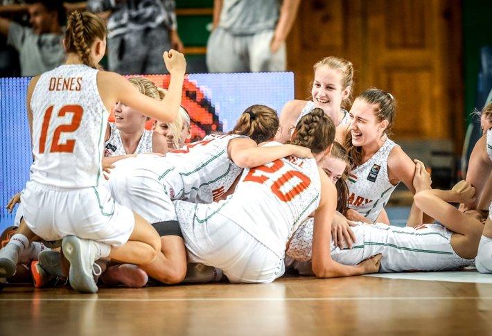 U16-os leány utánpótlás válogatottunk is a legjobb nyolc között