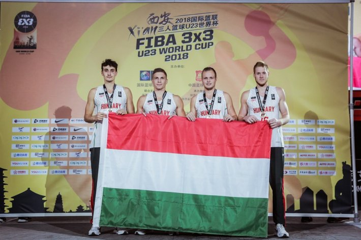 3x3-as U23-as világbajnokság: Bronzérmesek a magyar fiúk!
