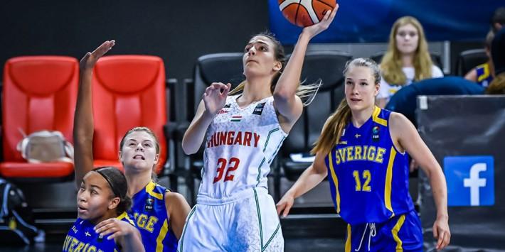 U16-os leány Eb: Könnyed siker Svédország ellen