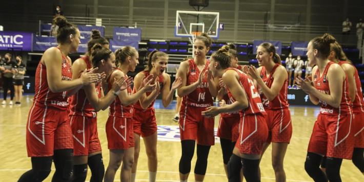 Magabiztos győzelemmel kezdte U20-as női válogatottunk a soproni Challenger tornát