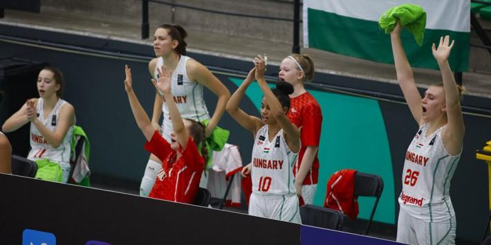 Nagyon könnyedén verték a litvánokat az U16-os lányok