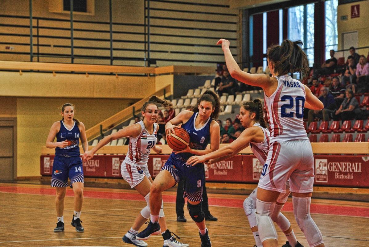 Leány junior döntő: A Vasas Akadémia a bajnok