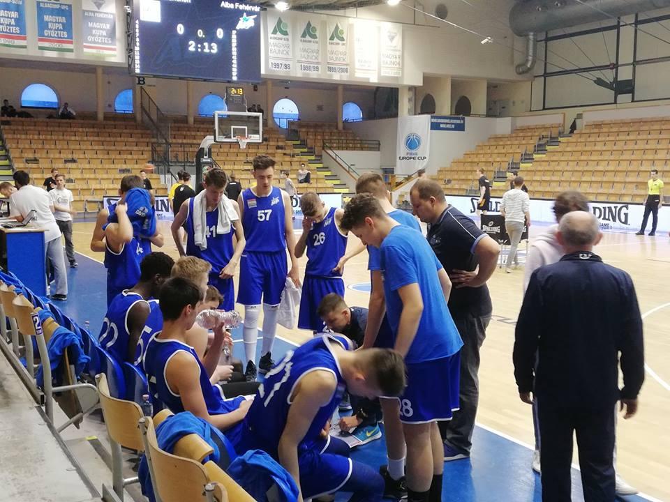 Megkezdődik az U16-os EYBL szuperdöntő az Alba Fehérvárral