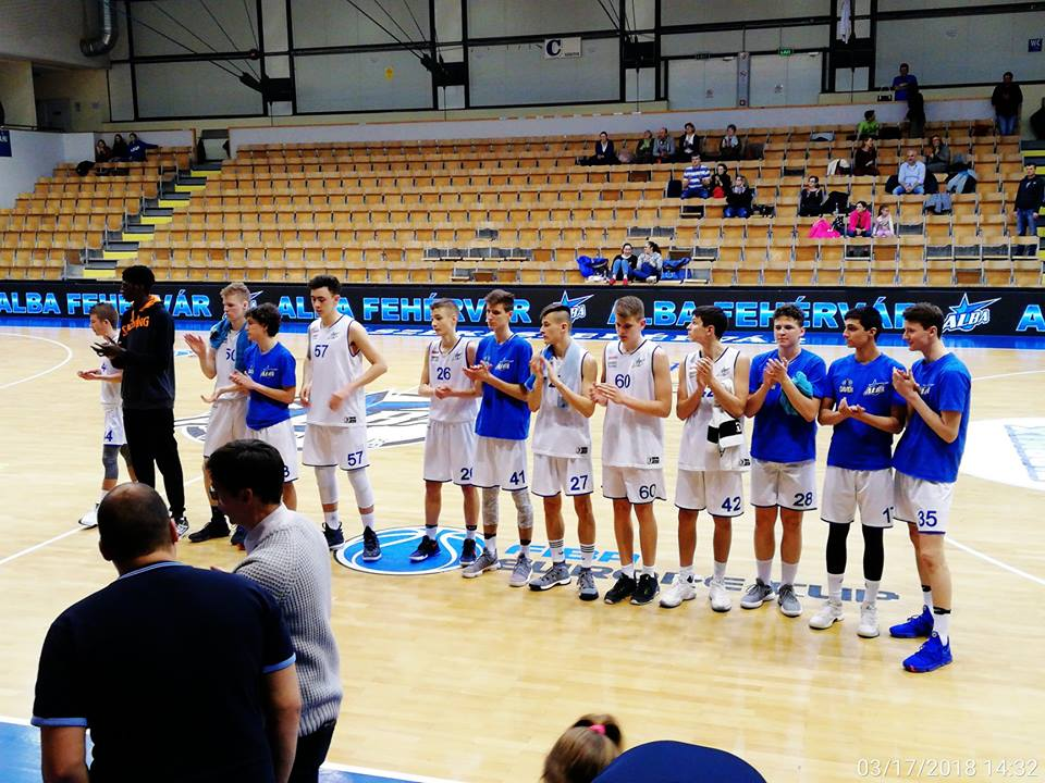 Nyolcadik helyen végzett az Alba Fehérvár az U16-os EYBL szuperdöntőjén