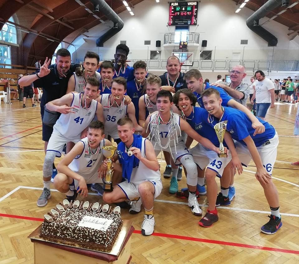Fiú Kadett Országos Döntő: Az Alba Fehérvár a bajnok
