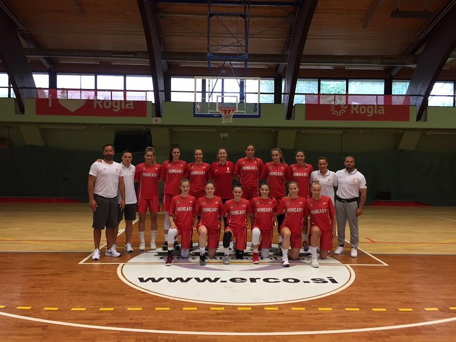 Az U20-as lányok legyőzték Szlovákiát