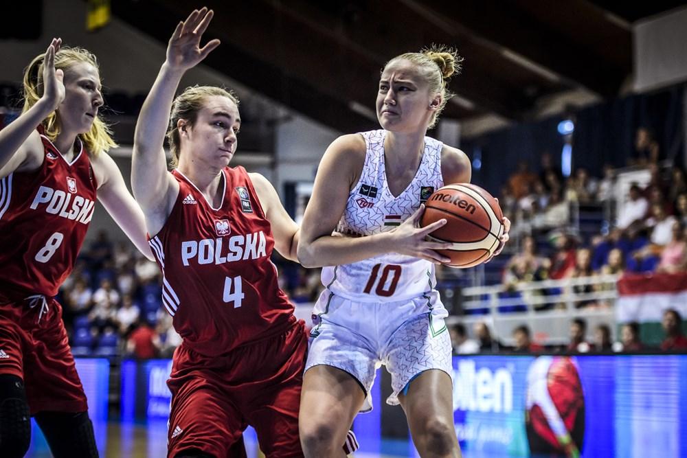 Női U20-as Eb: Veretlenül csoportelső a magyar válogatott
