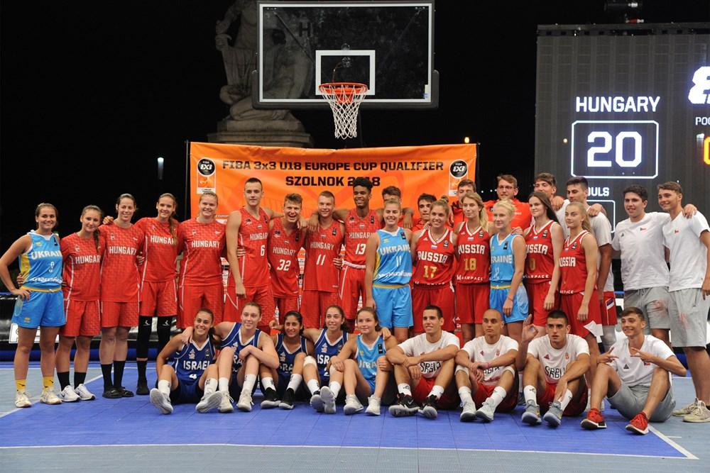 U18-as 3x3 Eb-selejtező: Mindkét magyar csapat jól szerepelt