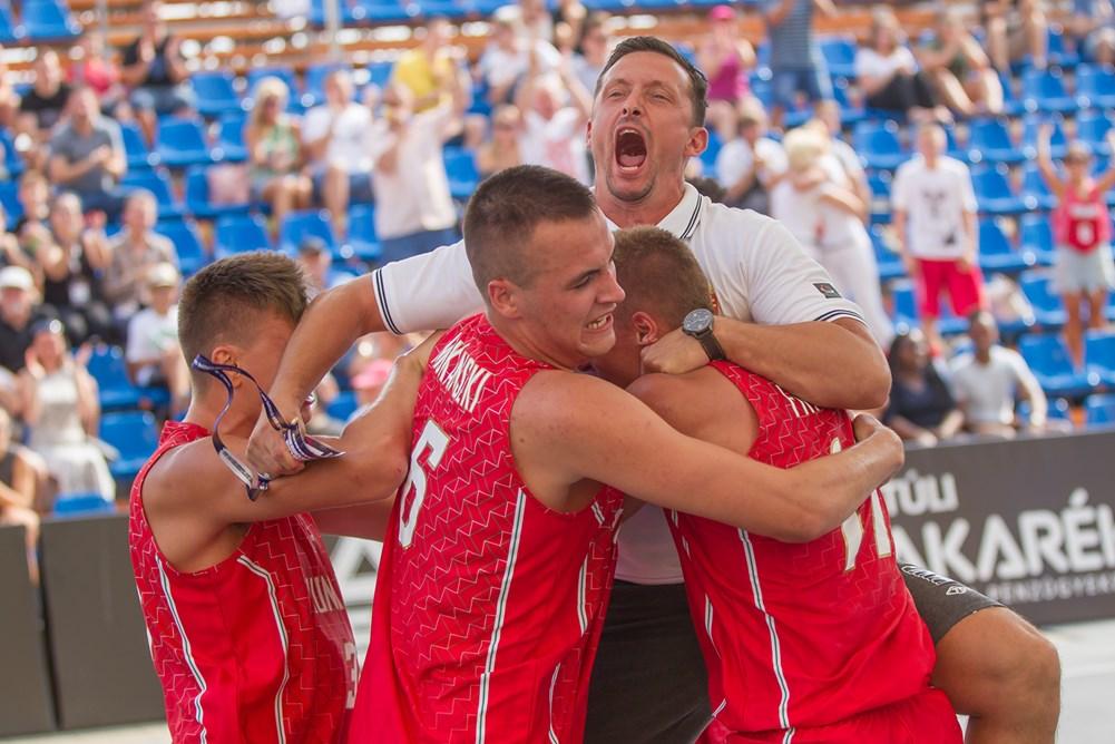 3x3-as U18-as Európa-bajnokság: A fiúk már a 8 között, ma megkezdik a lányok is