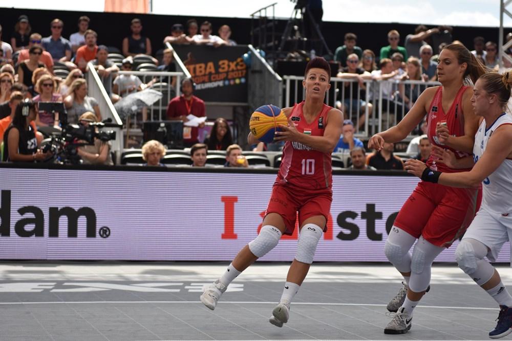 3x3-as Európa-bajnokság, nők: Szoros végjátékban vereség Belgiumtól