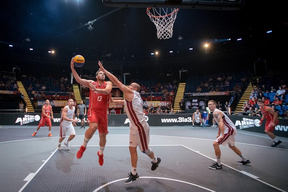 3x3-as Európa-bajnokság, férfiak: Vereség a címvédőtől