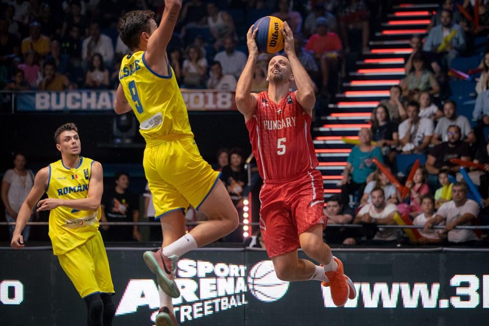3x3-as Európa-bajnokság, férfiak: Legyőztük Romániát!