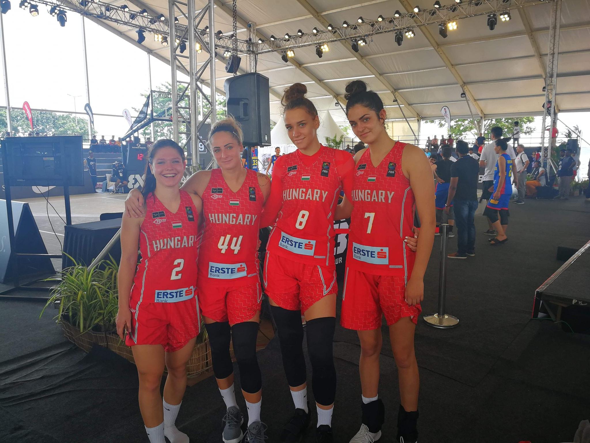 3x3 U23 Nations League: Bronzéremmel zárt női válogatottunk