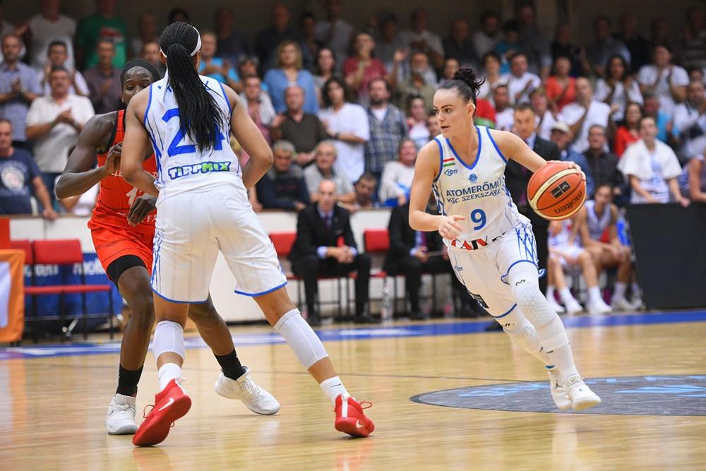 Női Euroliga selejtező: Hárompontos előnyt harcolt ki a Szekszárd