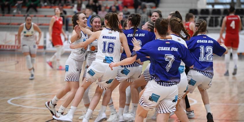 2018/2019 - Csata DSE – Vasas Akadémia 70-62
