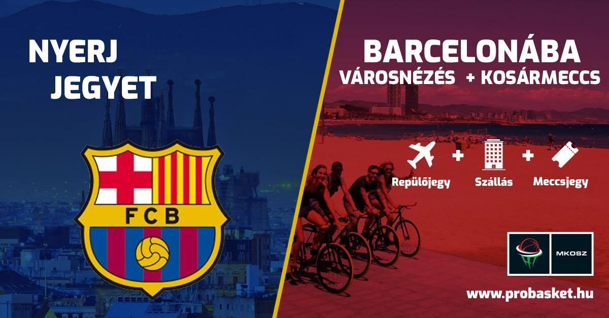 Nyereményjáték: utazz Barcelonába!
