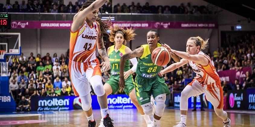 Női Euroliga: Orosz házi döntő lesz Sopronban