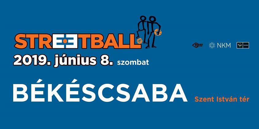 Nemzetközi streetball Békéscsabán