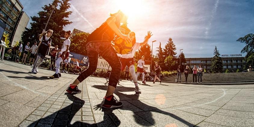 Békéscsaba: streetball kánikulában