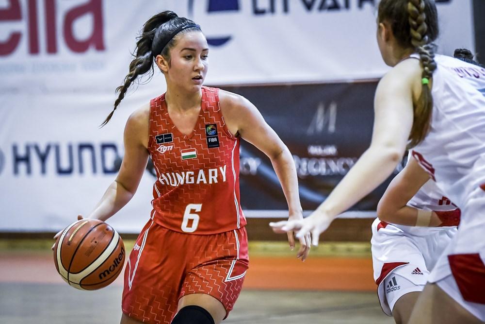 U18-as női Eb: Remek védekezés, sima győzelem Oroszország ellen