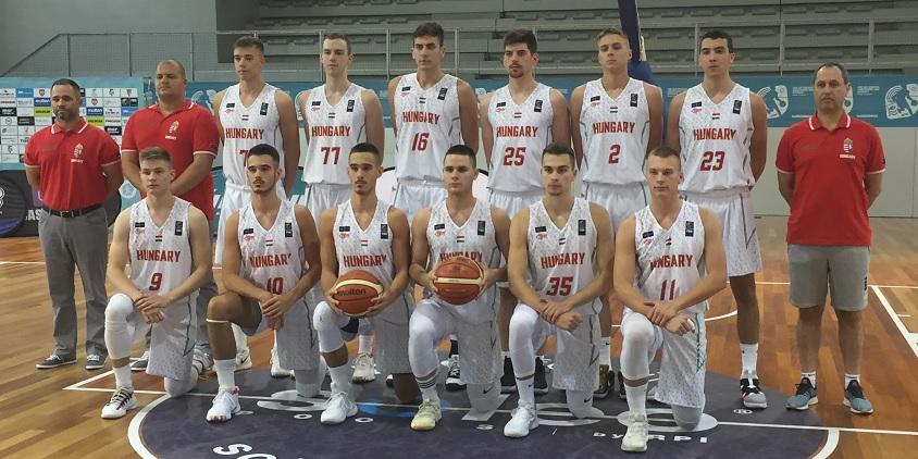 U20-as fiú Eb: Győzelemmel kezdett a magyar válogatott