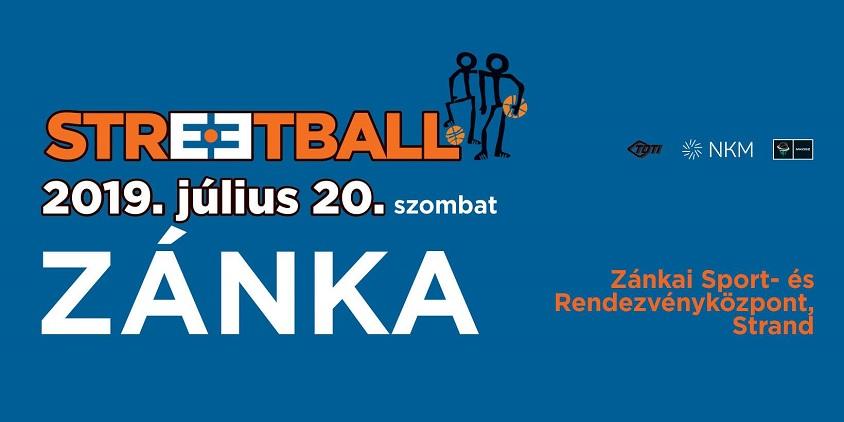 Zánka: napfény, Balaton, streetball