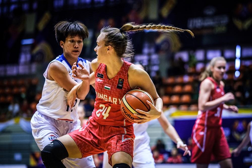 U19-es női vb: Remek harmadik negyed, könnyed győzelem Thaiföld ellen