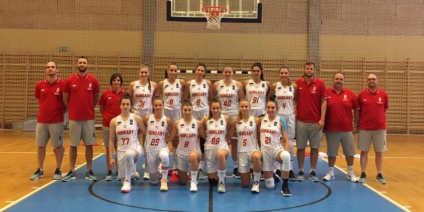 Az U20-as lányok simán verték a horvátokat