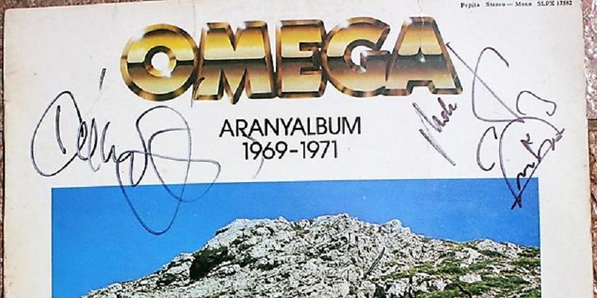 Aranyalbum árverésével segít a Kosarasok Klubja és az Omega