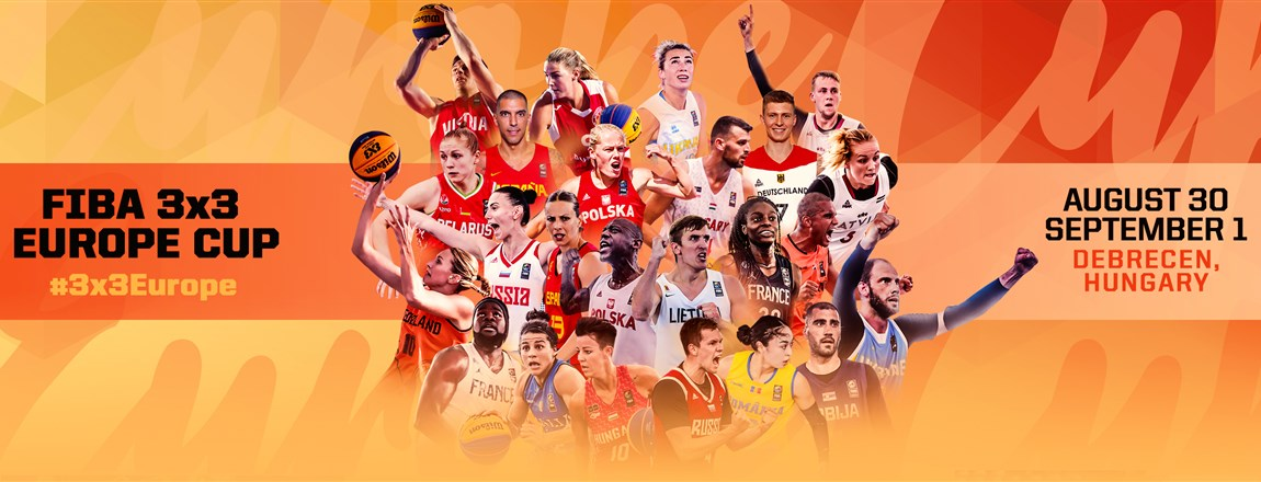 Elkészült a debreceni 3x3-as Európa-bajnokság menetrendje