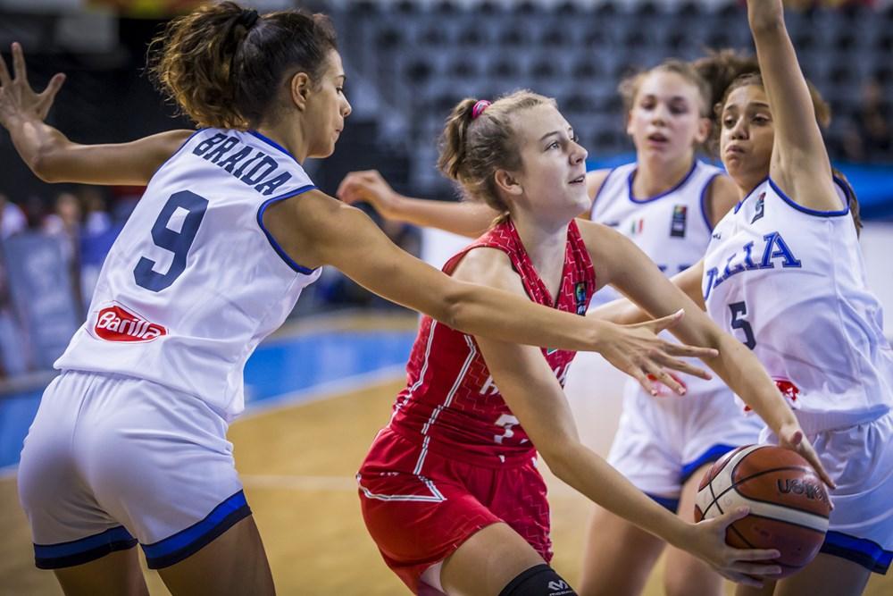 U16-os leány Eb: Magabiztos győzelem Olaszország ellen