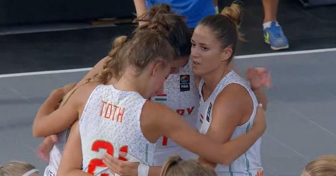 3x3 Nations League: Ezúttal ezüst jutott a magyar lányoknak