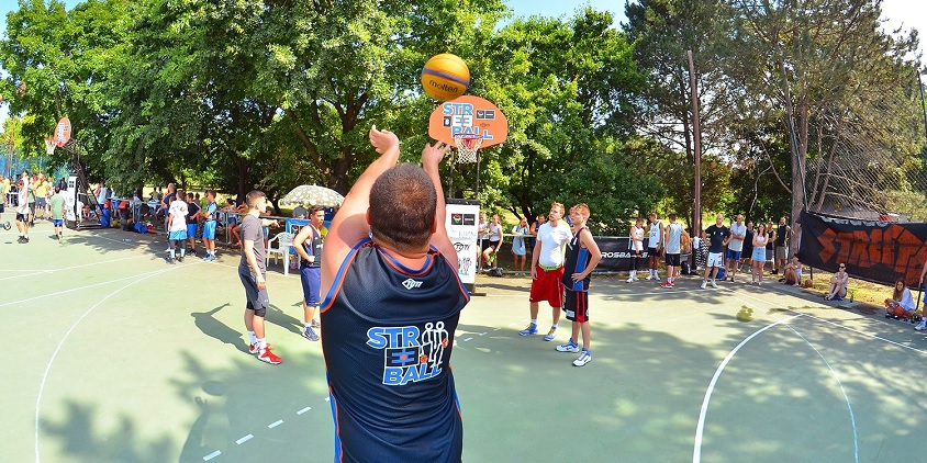 Sikeres dupla streetball