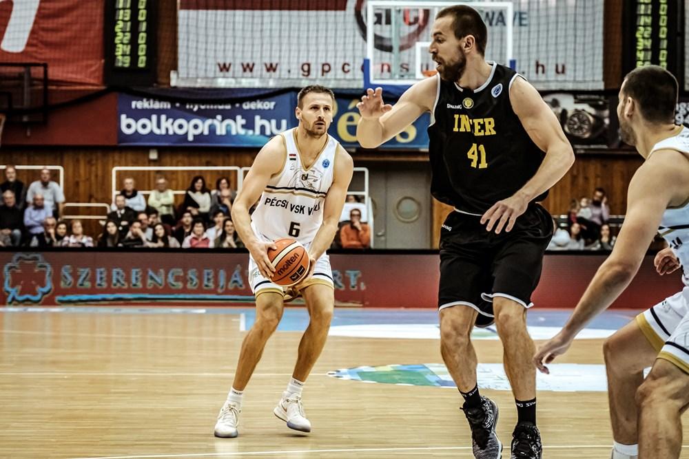 FIBA EC: Pécsen is eggyel voltak jobbak a pozsonyiak