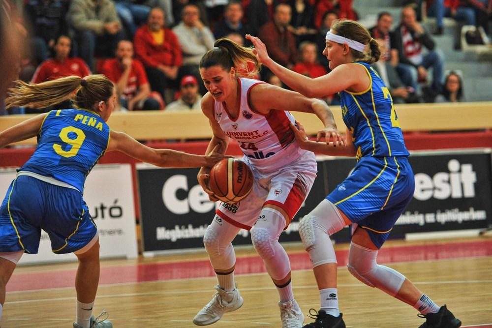 Női Európa-kupa: Győzött a DVTK és a Szekszárd, kikapott a PEAC-Pécs és a Győr