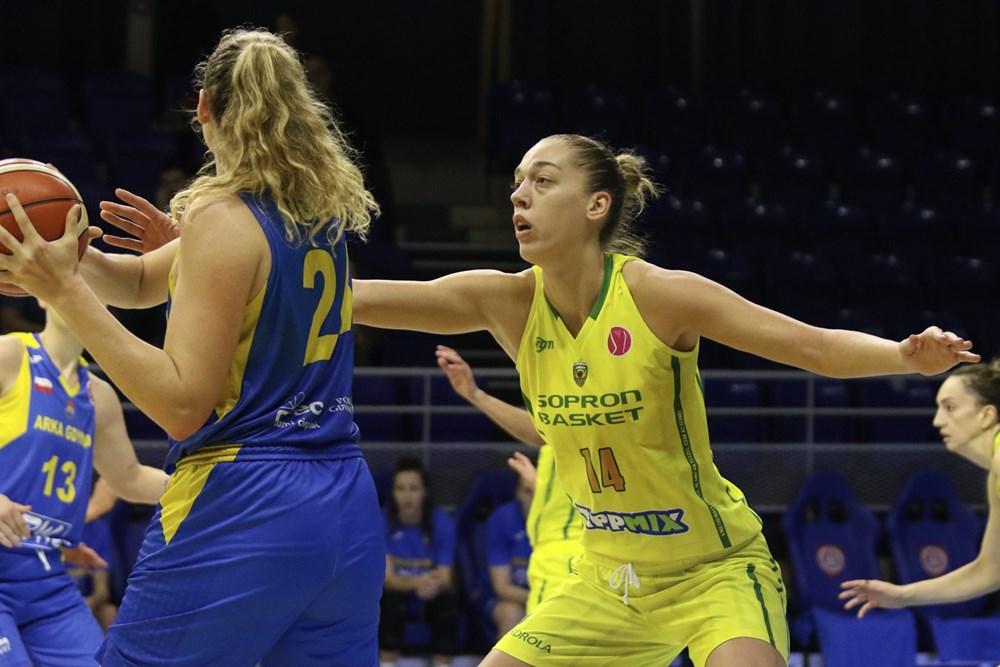 Női Euroliga: Szoros meccsen kapott ki a Sopron