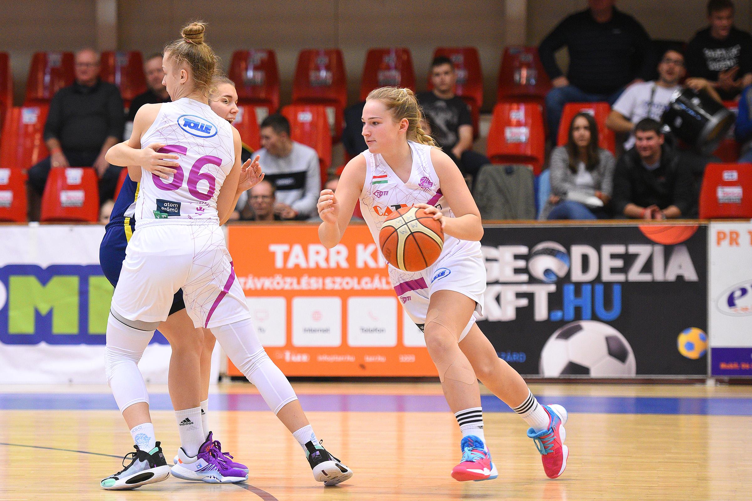 Női Amatőr NB: Nehezen, de Sopronban is nyert a BKG