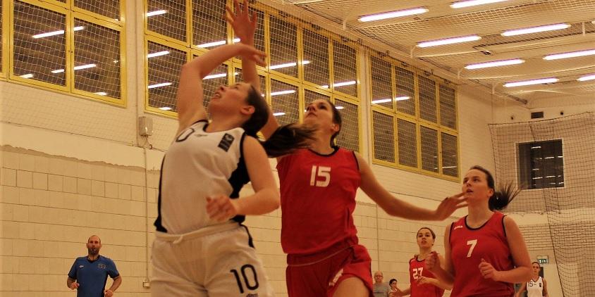 Nemzeti Egyetemi Kosárlabda Bajnokság, nők: Félévi értesítő