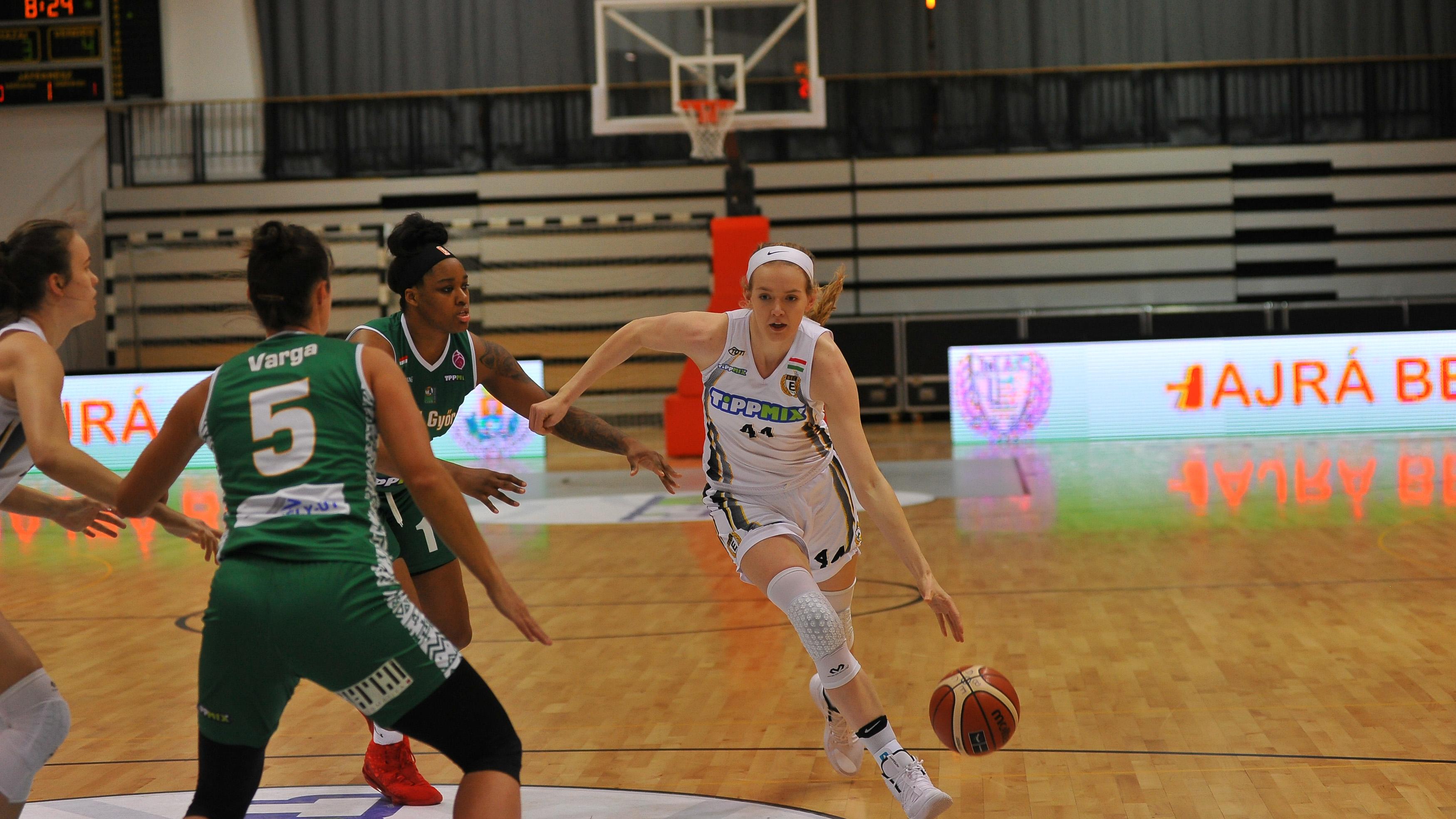 Női NB I: A BEAC legyőzte a Győrt