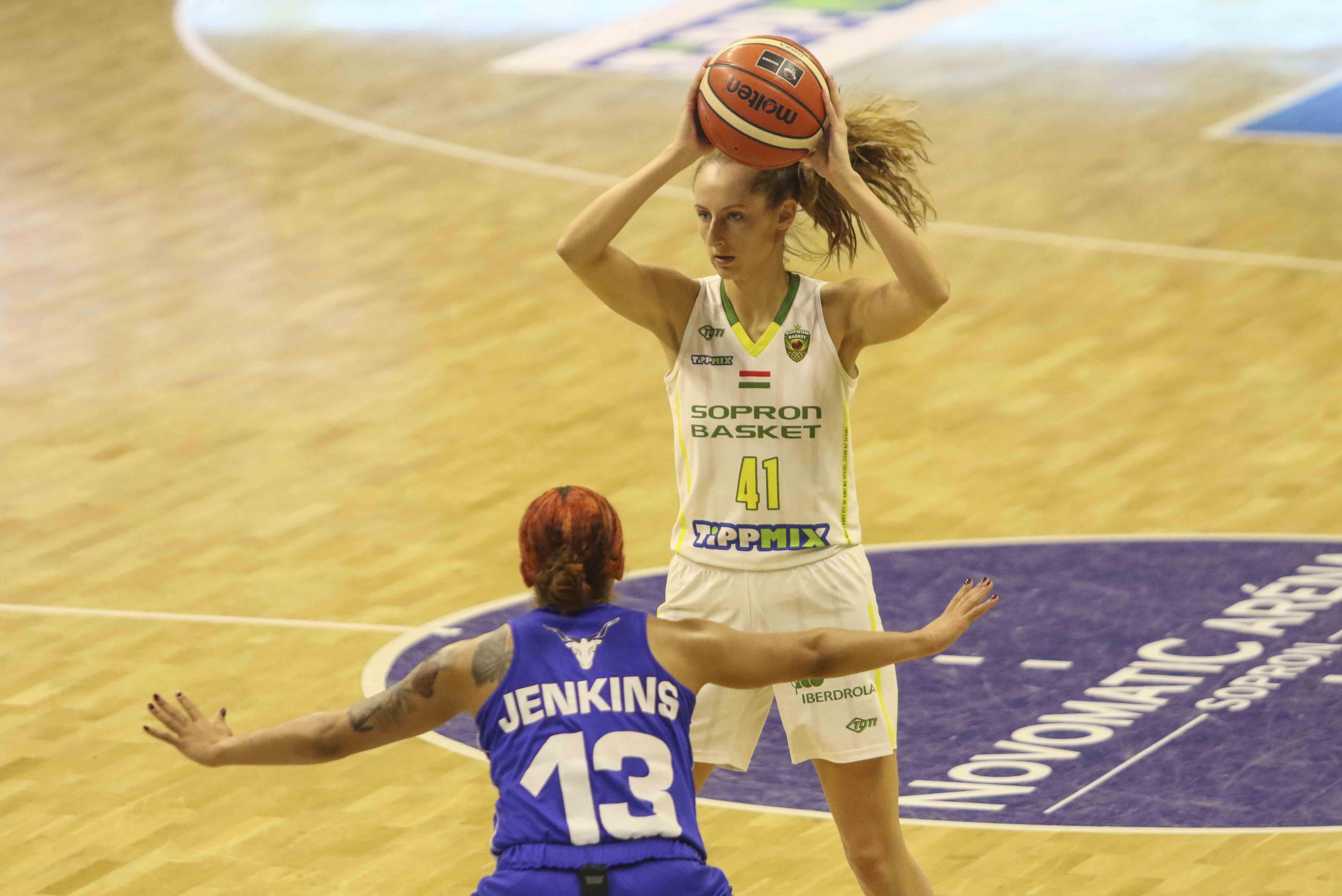 Sopron Basket - TFSE-MTK és Szekszárd - ZTE elődöntőkkel folytatódik a Magyar Kupa