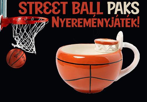 Streetball: félidő Pakson