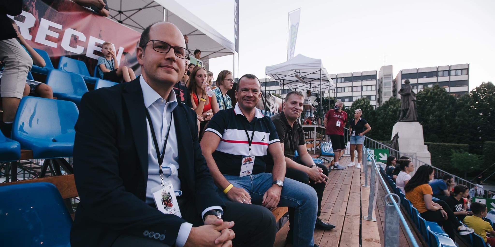 Debrecenben járt a FIBA főtitkára - interjú Andreas Zagklisszal