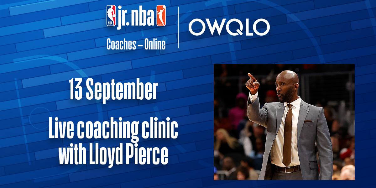 Online edzői kurzust tart Lloyd Pierce, az Atlanta Hawks vezetőedzője