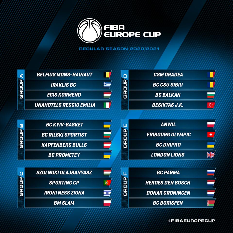 FIBA Europe Cup és női Európa-kupa: Változtak a csoportok és a lebonyolítás is