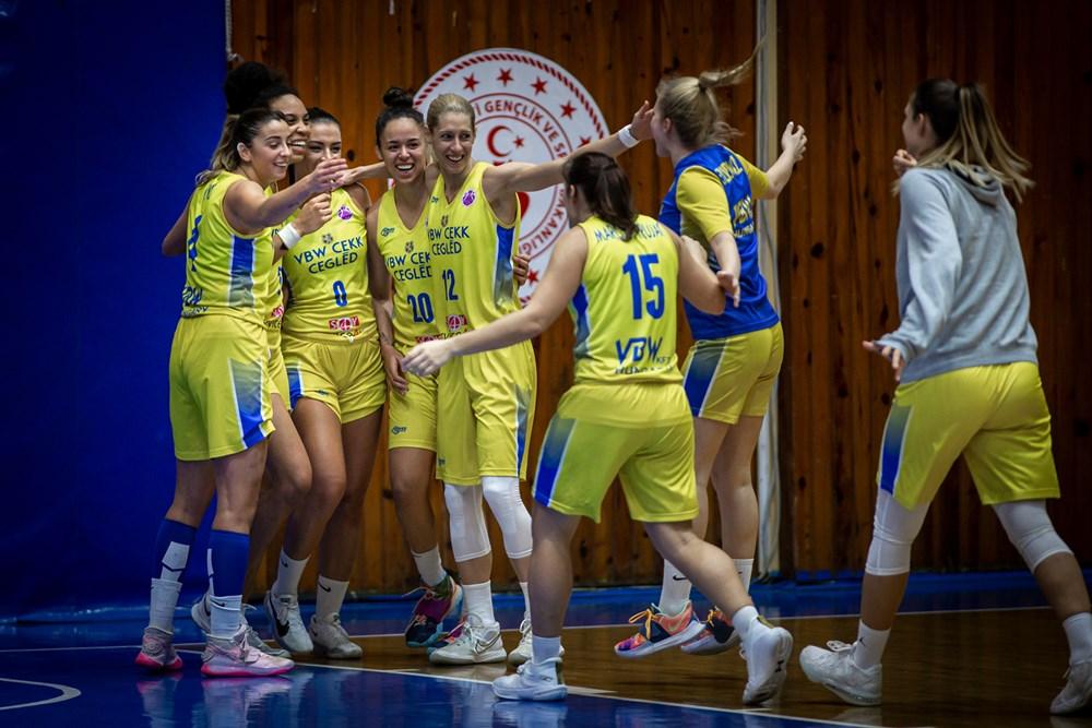 Női Európa-kupa: 19 ponttal nyert a Cegléd